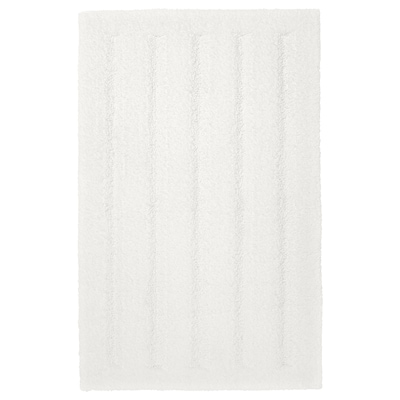 EMTEN Bath mat, white, 20x32 ""