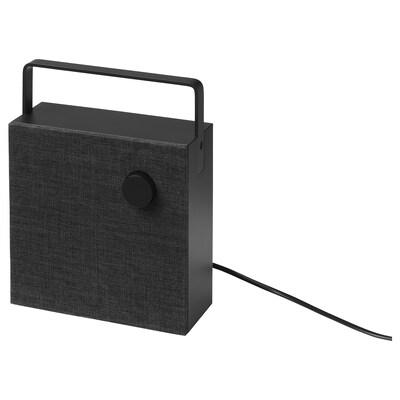"ENEBY Bluetooth speaker, black, 8x8 """