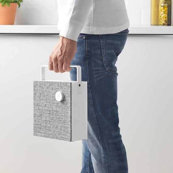 "ENEBY Bluetooth speaker, white, 8x8 """