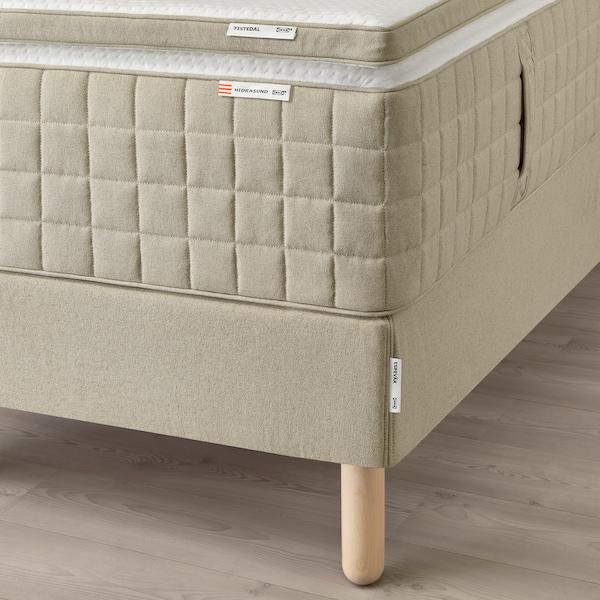 """ESPEVÄR bed combination Hidrasund firm/Tistedal natural 79 1/2 """" 31 1/2 """" 79 1/2 """" 76 """""""