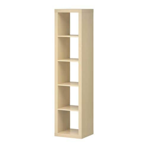 EXPEDIT Shelving unit   Can be placed vertically or horizontally.   Suitable for use both as a shelving unit and as a sideboard.