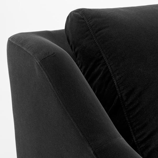 "FÄRLÖV sectional, 5-seat corner Djuparp dark gray 34 5/8 "" 41 3/4 "" 106 1/4 "" 91 "" 106 3/4 "" 122 "" 5 7/8 "" 24 "" 25 1/4 "" 18 7/8 """
