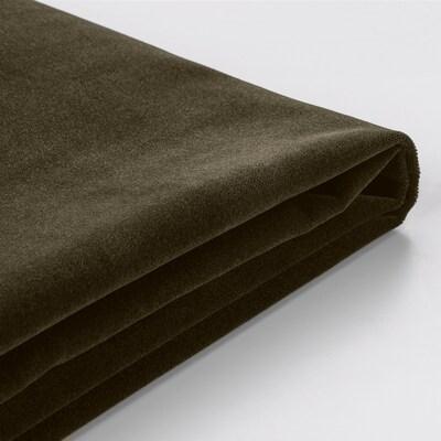 FÄRLÖV Cover for armchair, Djuparp dark olive-green