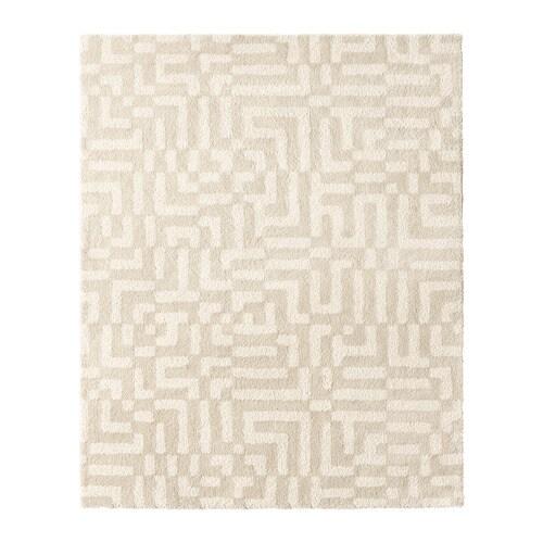 Ikea Off White Rug 2019: FAKSE Rug, High Pile