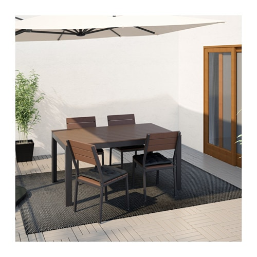 FALSTER Table And 4 Chairs, Outdoor   IKEA