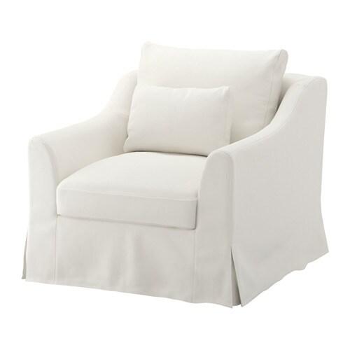 F 196 Rl 214 V Armchair Flodafors White Ikea