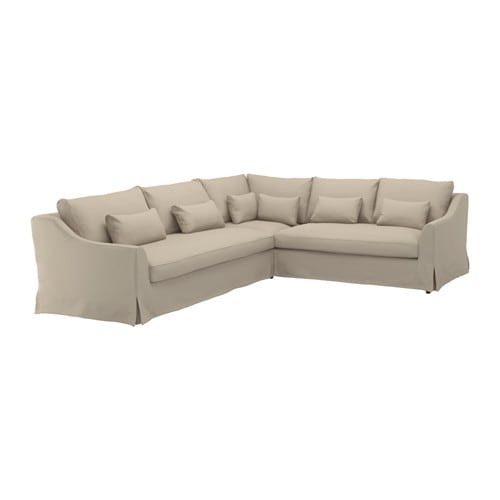 F Rl V Sectional 5 Seat Sofa Left Flodafors Beige Ikea