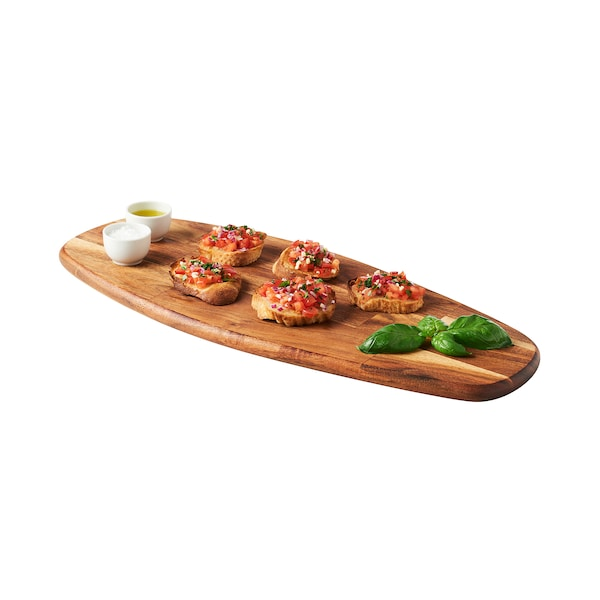 FASCINERA Chopping board, mango wood, 20 ½x8 ¾ ""