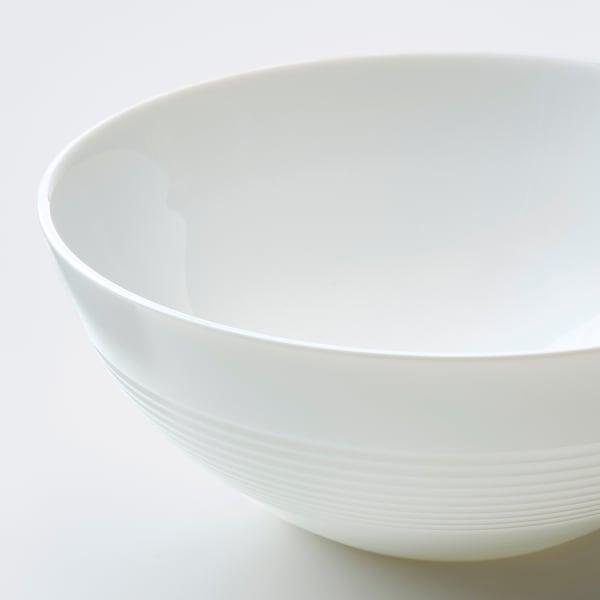 FAVORISERA 12 piece dinnerware set, white