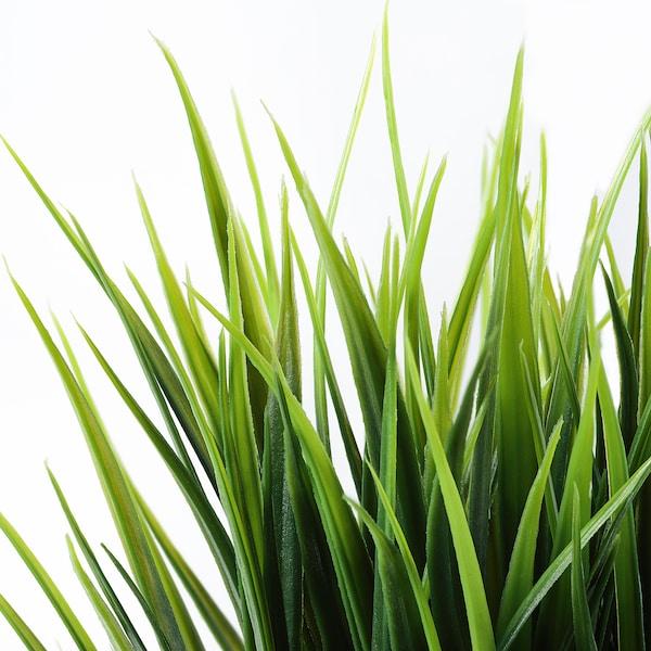 "FEJKA Artificial potted plant, indoor/outdoor grass, 3 ½ """