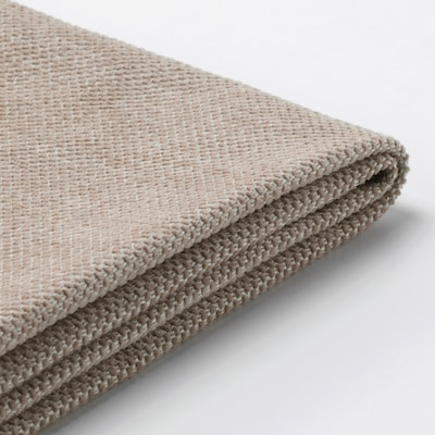 FINNALA Cover for headrest, Tallmyra beige