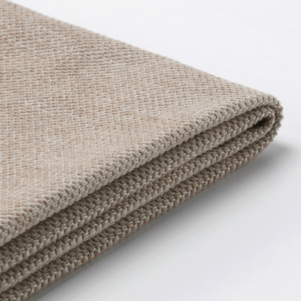 FINNALA Cover for sectional, 5-seat, Tallmyra beige