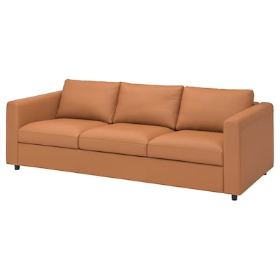FINNALA Sofa, Grann/Bomstad golden brown