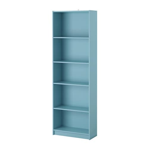 Finnby bookcase light turquoise ikea for Ikea ca lits