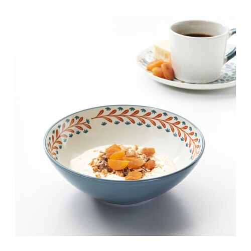 FINSTILT Bowl   Unique dinnerware with patterns, details and raised reliefs that exude tradition and craftsmanship.