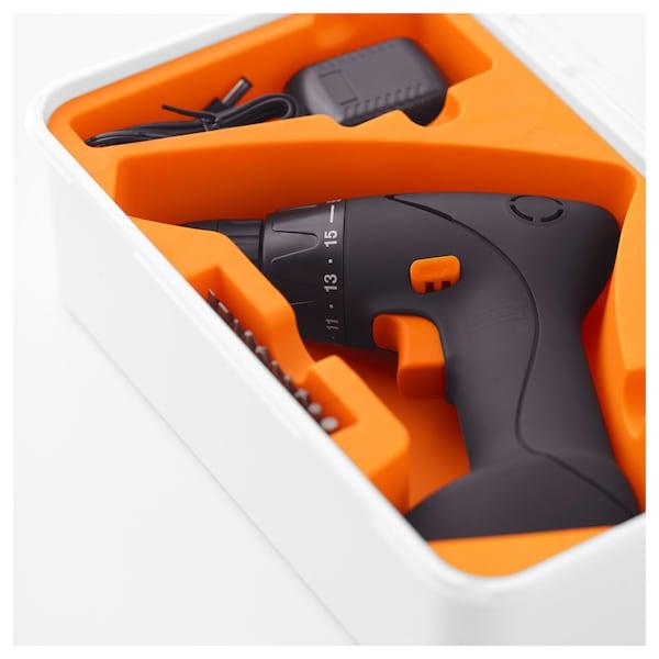 IKEA FIXA Screwdriver/drill, lithium-ion