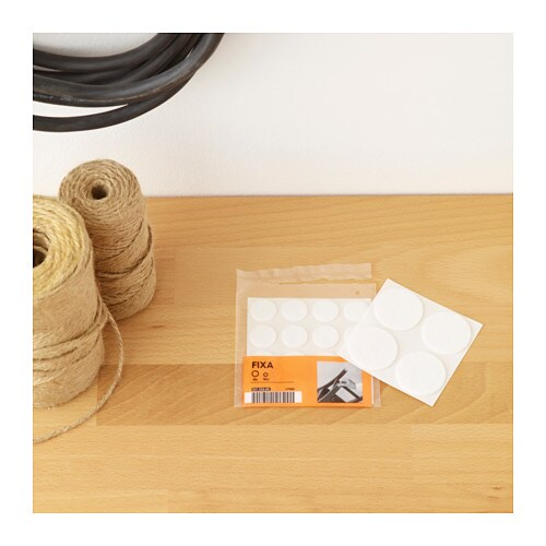 FIXA Stick On Floor Protectors Set Of 20   IKEA