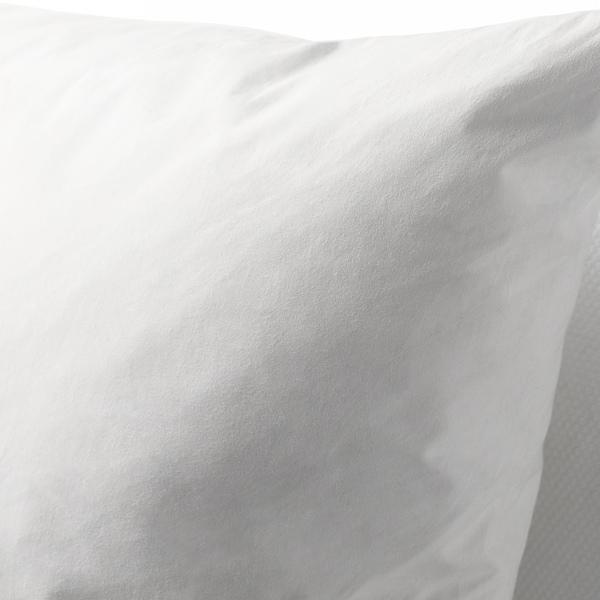 """FJÄDRAR Inner cushion, white, 26x26 """""""