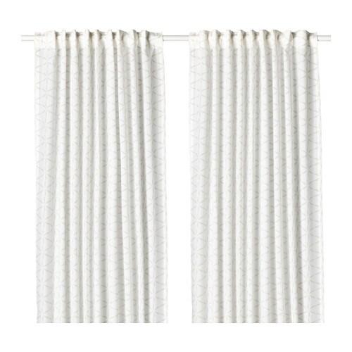FJÄLLBINKA Curtains, 1 Pair