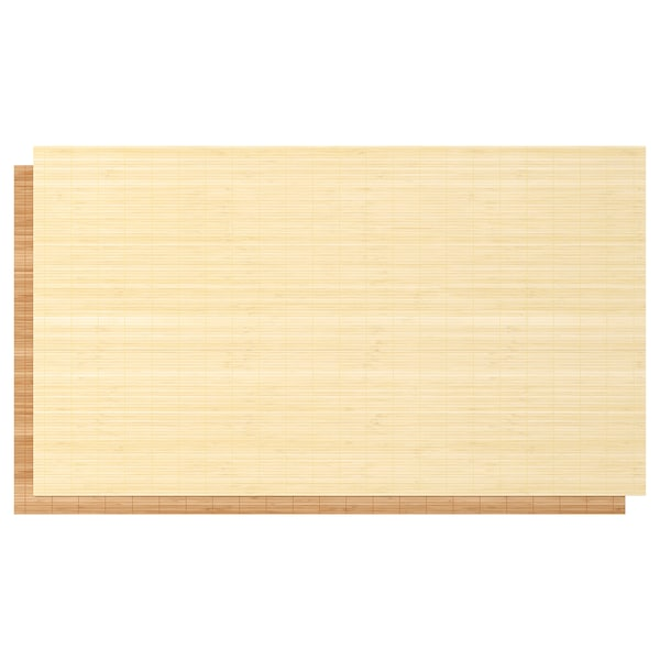 """FJELLHAMAR 4 panels for sliding door frame, bamboo/double sided, 39 3/8x92 7/8 """""""