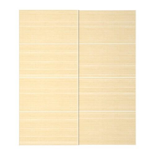 Fjellhamar Pair Of Sliding Doors 200x236 Cm Ikea
