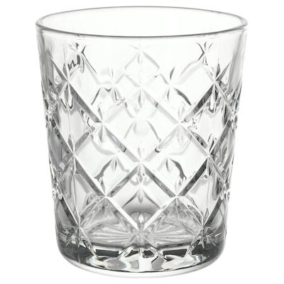 "FLIMRA glass clear glass/patterned 4 "" 9 oz"
