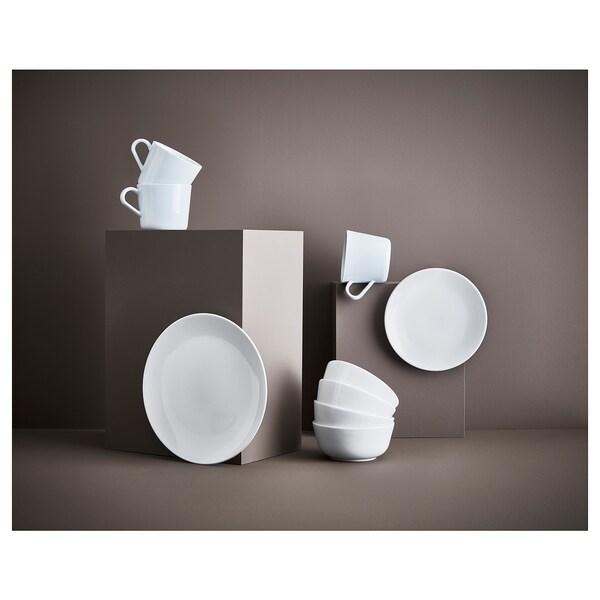 """FLITIGHET Plate, white, 10 """""""