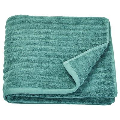 "FLODALEN Bath towel, blue/green, 28x55 """