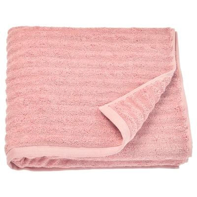 """FLODALEN Bath towel, light pink, 28x55 """""""