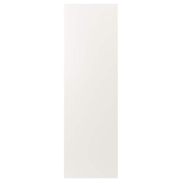"FÖRBÄTTRA Cover panel, white, 25x80 """