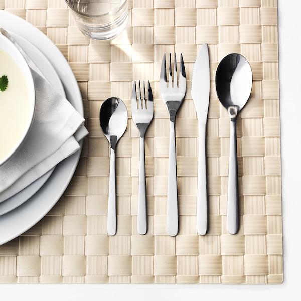 FÖRNUFT 20-piece cutlery set, stainless steel