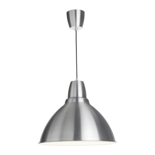 FOTO Pendant lamp   Gives a directed light.   Good for lighting dining tables or a bar area.