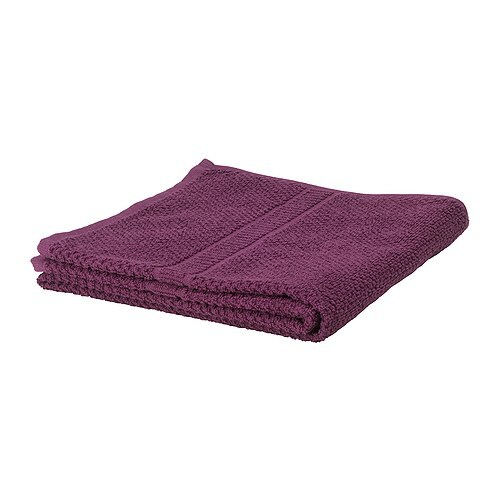 FRÄJEN Hand towel   A terry towel in medium thickness that is soft and highly absorbent (weight 500 g/m²).