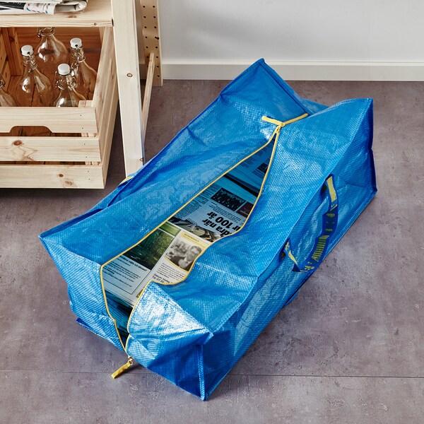 "FRAKTA storage bag blue 28 ¾ "" 13 ¾ "" 11 ¾ "" 55 lb 20 gallon"