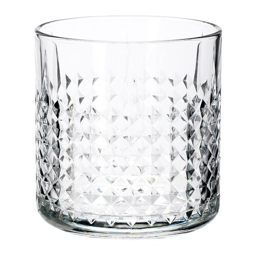 FRASERA Whiskey glass   The glass is large and feels nice to hold because of its weight.   .
