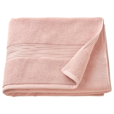 "FREDRIKSJÖN Bath towel, light pink, 28x55 """