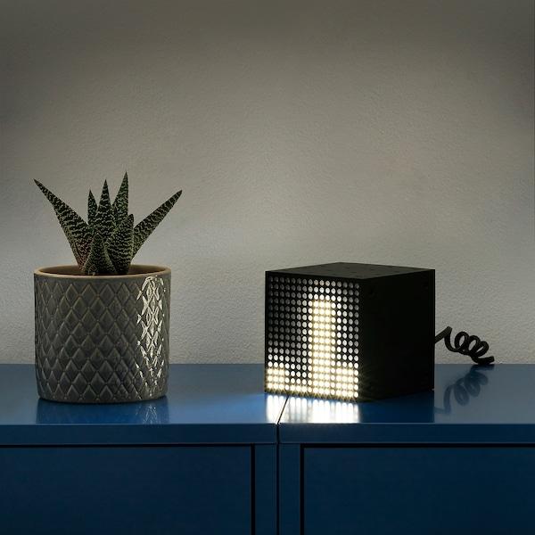 "FREKVENS LED multi-use light black 1 pack 4 "" 4 "" 4 """