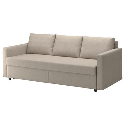 FRIHETEN Sofabed, Hyllie beige
