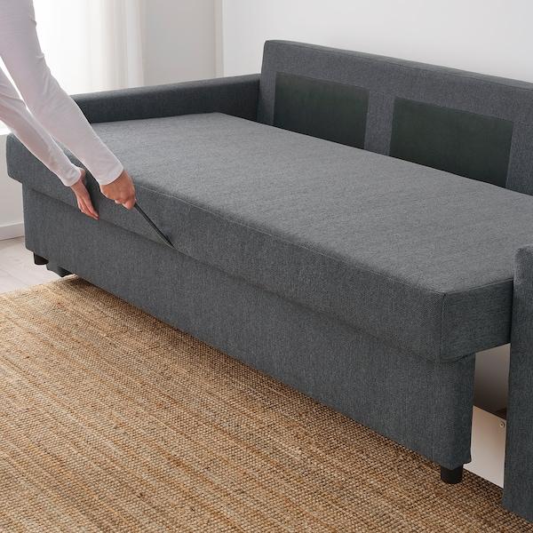 Friheten Sofabed Hyllie Dark Gray Ikea