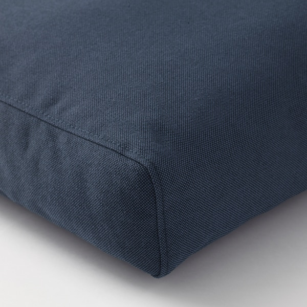 "FRÖSÖN/DUVHOLMEN Back cushion, outdoor, blue, 24 3/8x17 3/8 """