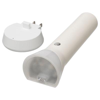 FRYELE Rechargeable LED flashlight, white