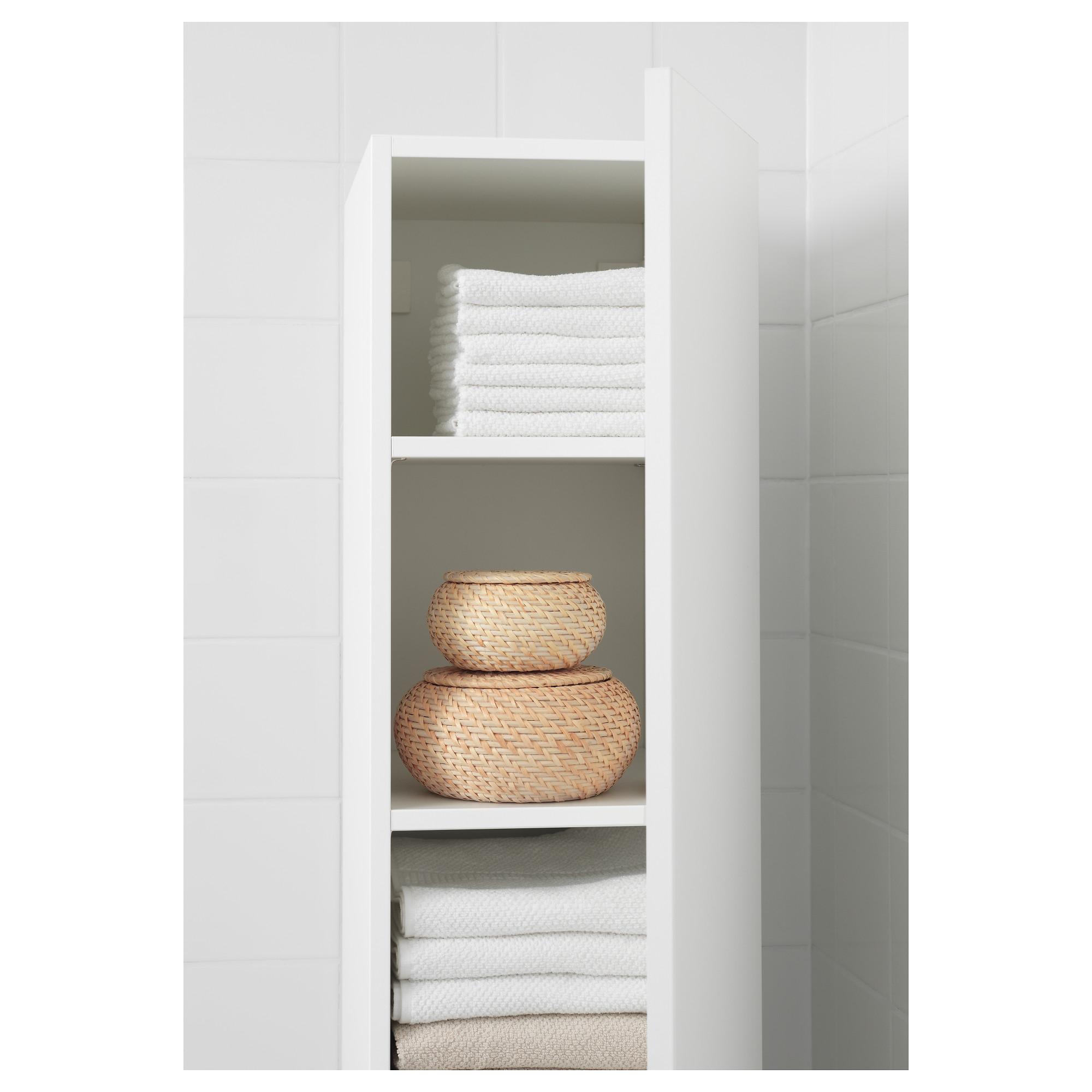 IKEA FRYKEN Box with lid, set of 3