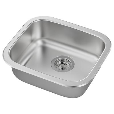 """FYNDIG Sink, stainless steel, 18 1/8x15 3/4 """""""