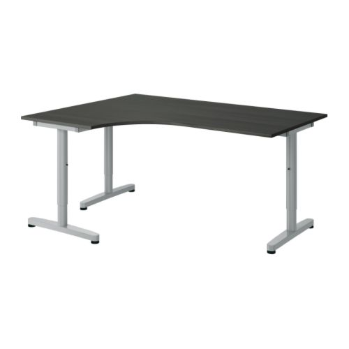 GALANT Corner desk-left   10-year Limited Warranty.   Read about the terms in the Limited Warranty brochure.  Tested and approved for office use.