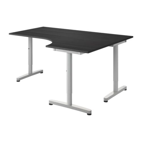 GALANT Corner desk-right   10-year Limited Warranty.   Read about the terms in the Limited Warranty brochure.  Tested and approved for office use.
