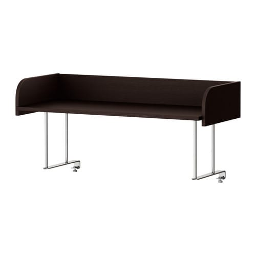 GALANT Desk top shelf   Attaches to GALANT table tops for easy access storage that frees table space.