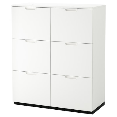 """GALANT Storage combination with filing, white, 40 1/8x47 1/4 """""""