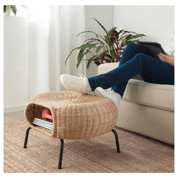 IKEA GAMLEHULT Footstool with storage