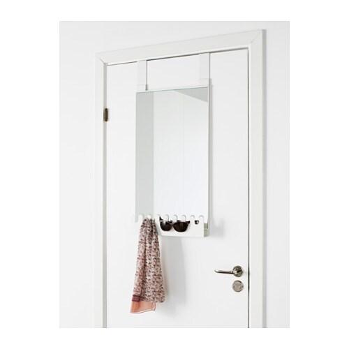 GARNES Over The Door Mirror/hooks U0026 Shelf   IKEA