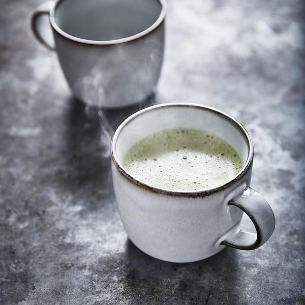 GLADELIG Mug, gray, 13 oz